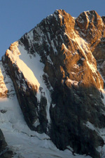 Grandes Jorasses, Pointe Walker Home